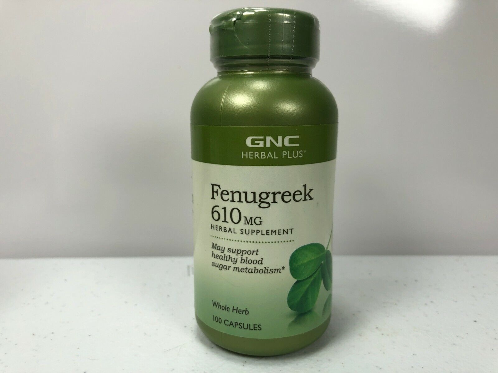 GNC Herbal Plus Fenugreek Herbal Supplement 610 mg 100 Capsu
