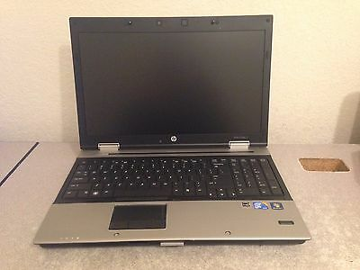 HP EliteBook 8540p Core i7 Laptop 8 GB RAM Webcam No Hard Drive No OS Quick Ship