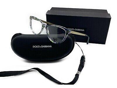 D&G Dolce & Gabbana DG 1213 1876 MULTI-COLOR EYEGLASSES DISPLAY MODEL 50mm  (Colored Eyeglass Lenses)