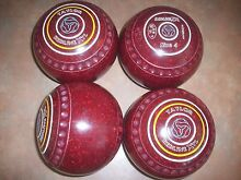 Taylor REDLINE XTL Lawn Bowls Size 4H WB16 Dimple Gripped V.G.C Surfers Paradise Gold Coast City Preview