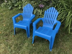 Child sized Muskoka chairs perfect condition