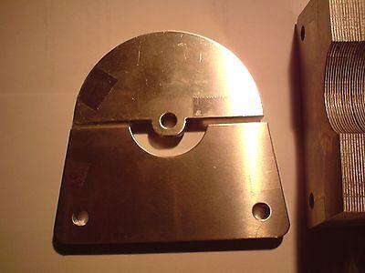 Drehkondensator Platten aus 1mm Alublech