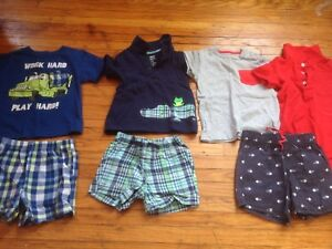 Lot of  baby boys summer clothes