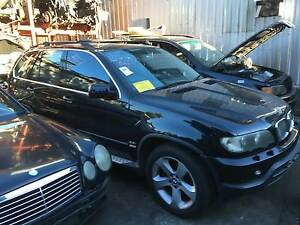 BMW X-Series 4x4 BMW X5 4.4L E53 bmw x5 v8 4.4 black complete car Northmead Parramatta Area Preview