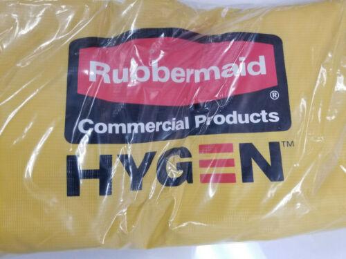 Rubbermaid Hygen Commercial 3484282 Vinyl Linen Zippered Yellow Bag FG618300