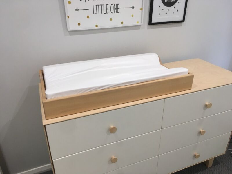 oeuf change table tray and pad | cots & bedding | gumtree australia