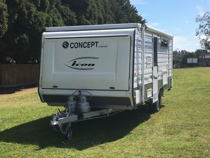 Concept  expanda Pop-top caravan 2013 semi off-road with bunks Croydon Hills Maroondah Area Preview
