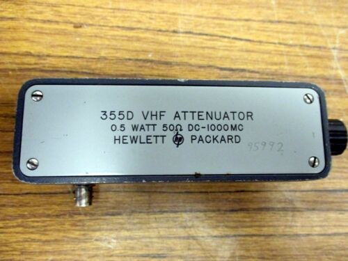 HP - Agilent -  355D VHF Attenuator