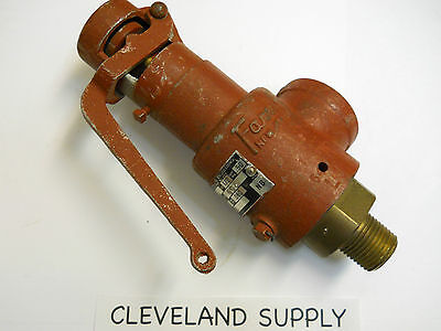 Teledyne Farris 1875-ol Safety Relief Valve 125 Set Pressure 12 Nos Condition
