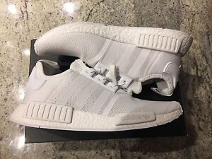 Adidas NMD R1 triple white size 10.5 brand new in the box