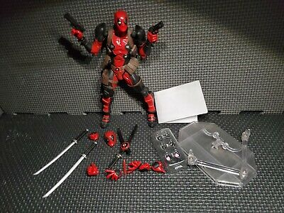 AUTHENTIC Deadpool Amazing Yamaguchi Revoltech Figure X-Men marvel