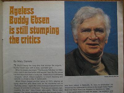 April 16  1978  Chicago  Tribune  Tv  Week  Buddy Ebsen Barnaby Jones Holocaust
