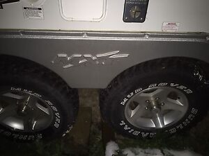 Wanted: wheel fender for coyote MXT toy hauler