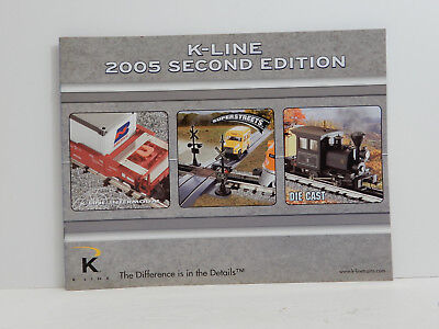 K-Line Toy Trains 2005 Second Edition Catalog