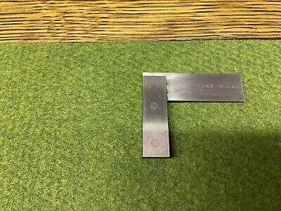 Brown Sharpe Baby 1 12 Vintage No 540 Hardened Steel Machinist Square