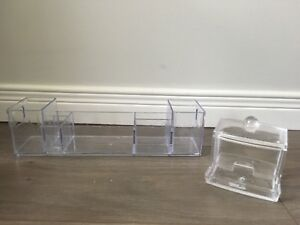 Acrylic Storage Containers