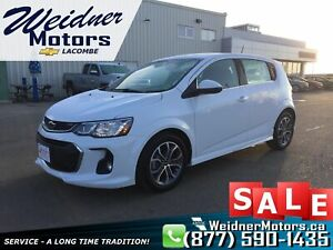 2018 Chevrolet Sonic *Low mileage, Heated Cloth Seats*