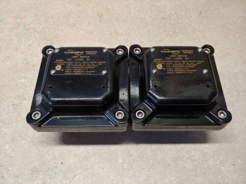 Lot of (2) Flowserve 25ELK39ZR3 Worcester Controls Limit Switches 15 AMPS