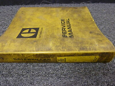 Caterpillar Cat 955 Traxcavator Track Type Loader Shop Service Repair Manual