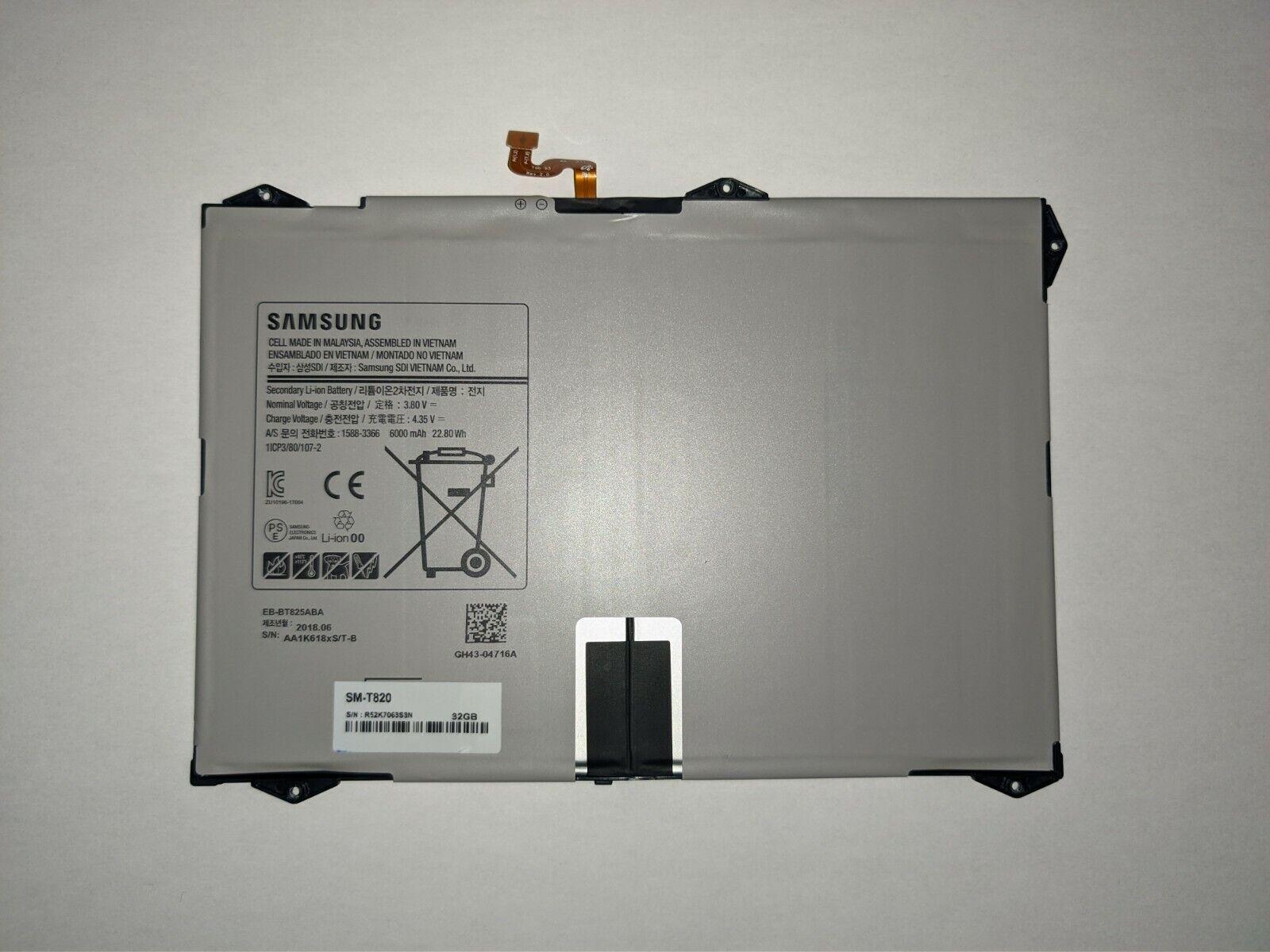 Original samsung batterie pile accu 6000mah pr galaxy tab s3 9.7 sm-t820 / t825