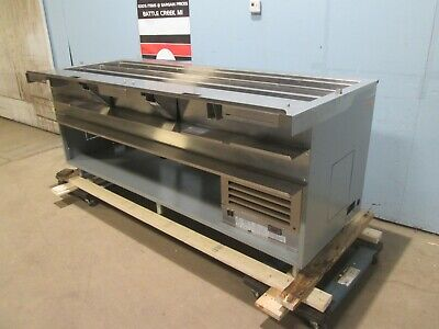 Duke Sub-cp-tc86m Hd Commercial Nsf 3 Cold Wells Subway Style Prep Station