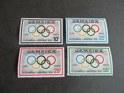 JAMAICA 1976 SG 415-418 OLYMPIC GAMES MNH