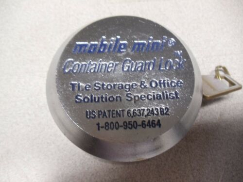 Mobile Mini Storage Container Guard Lock and Key