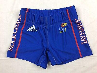 (NEW adidas Kansas Jayhawks - Blue Poly Shorts (Multiple Sizes))
