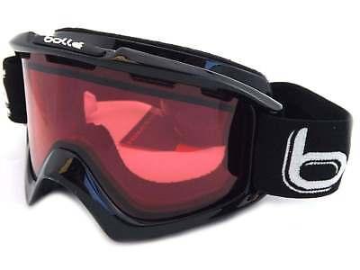2ffc15fe7b0 BOLLE - NOVA unisex Shiny Black Snow Ski Goggles   Vented Vermillon Lens  20967