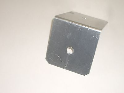 WORKMAN B312 PICKUP TRUCK BED TOOL BOX RT ANGLE ANTENNA MOUNT BRACKET 1/2in (In Bed Tool Box Pick Up Truck)