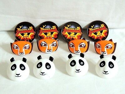 Kung Fu Panda Party Supplies ( KUNG FU PANDA 2- 12-CUPCAKE RINGS-- PARTY SUPPLIES)
