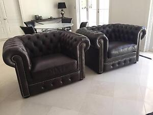 CHESTERFIELD LOUNGE SET Bondi Eastern Suburbs Preview