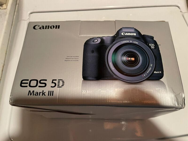 Canon 5D Mark III - Box Only