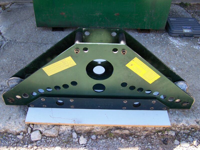 Greenlee 884 Hydraulic Conduit Bender Frame with Pipe Supports & Pins