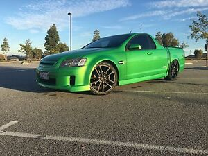 2009 Holden Commodore VE SS Ute Atomic Green Baldivis Rockingham Area Preview