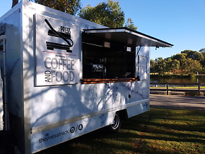 Marble wrapped Coffee and Food truck / van. Geelong Geelong City Preview