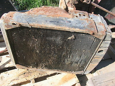 Ih International Farmall 400 450 Engine Motor Radiator