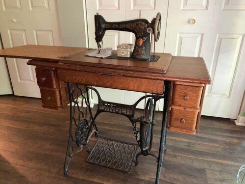 Antique Singer Sewing Treadle Machine