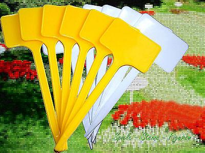 6 Beetschilder Beschriftung f. Beete Gartenschild Pflanzschild Beetbeschriftung