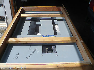 Square D I-line Panel Interior Hcp36868m With Main 800a 600v New In Crate