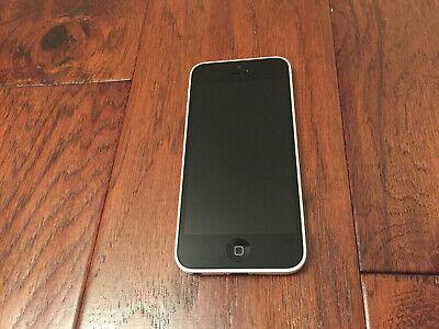 Apple iPhone 5c - 8GB - White (Unlocked) A1532.  Fair Condition