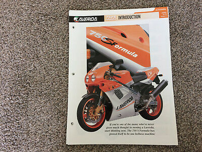 LAVERDA 750S FORMULA MOTORCYCLE FACT FILE FROM ESSENTIAL SUPERBIKE COLLECTION