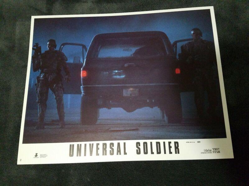 Universal Soldier lobby cards - Jean Claude Van Damme, Dolph Lundgren - set of 8