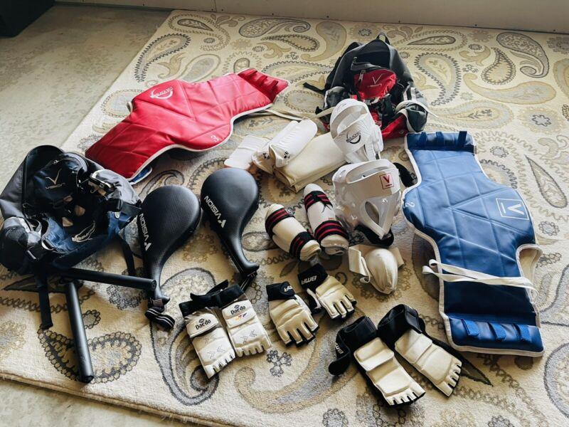 2 Taekwondo Gear Equipment Bag w Gear
