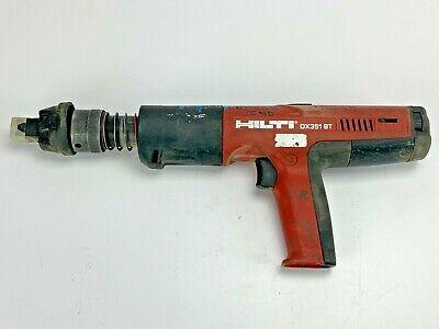 Hilti Dx351 Bt Powder Actuated Tool Nail Gun Fastener