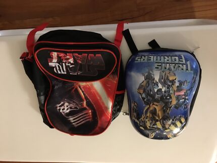 Children's bags ( transformers and Star Wars)