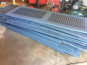 Large Assortment of Shutters