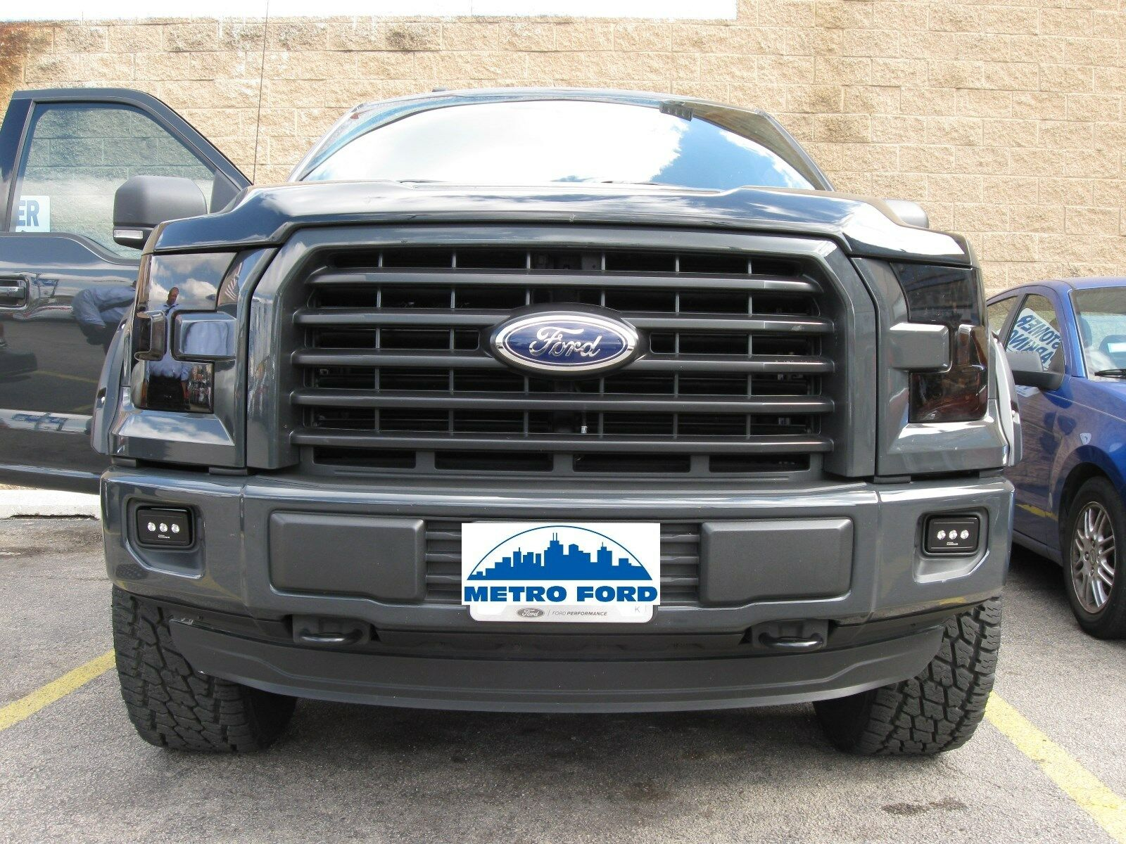 2015 2017 ford f 150 led fog light kit vfl3z 15200 c. Black Bedroom Furniture Sets. Home Design Ideas