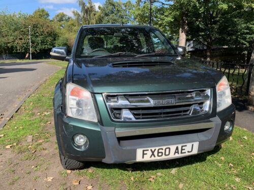 Image of 2010/60  ISUZU TF RODEO DENVER MAX DOUBLE CAB FERN GREEN*GREAT WORKHORSE 4X4*