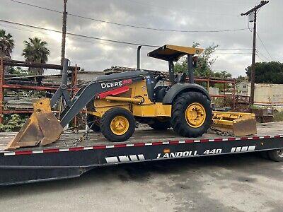 2013 John Deere 210kep 4wd Skip Loader Landscape Box Scraper Tractor